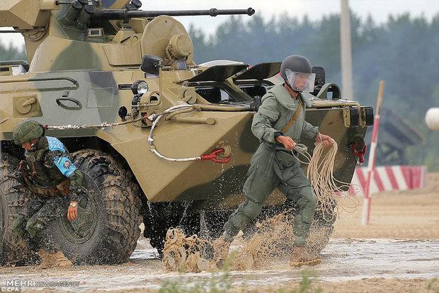 International army games
