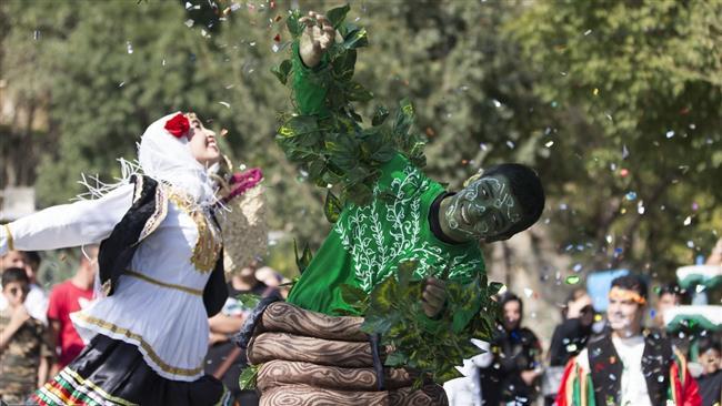 Mariwan International Street Theater Festival wraps up in northwestern Iran