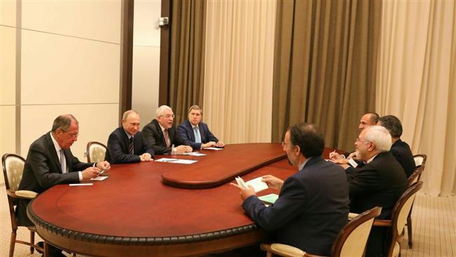 Zarif, Putin meet in Sochi