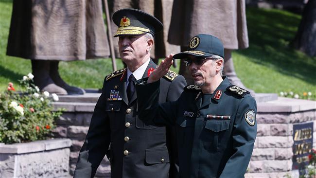 Iran, Turkey senior military commanders call Kurdish vote dangerous