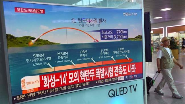 North Korea fires missile over Japan's Hokkaido Island