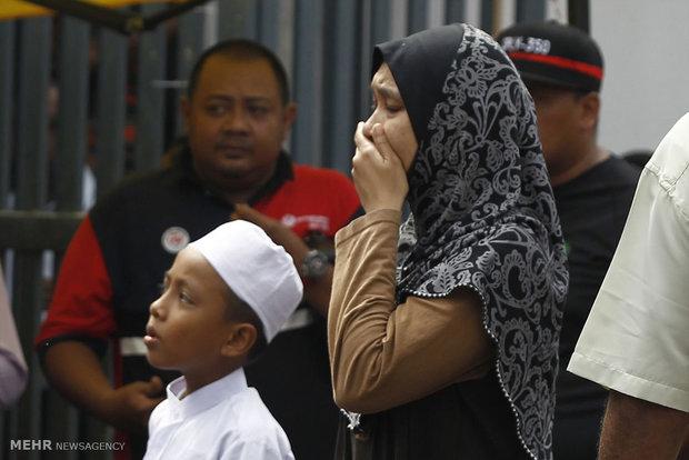 Fire in an Islamic school in Malaysia