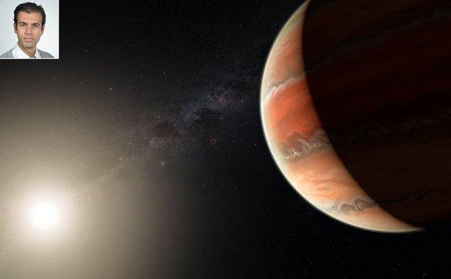 Iranian scientist detects titanium oxide in Jupiter