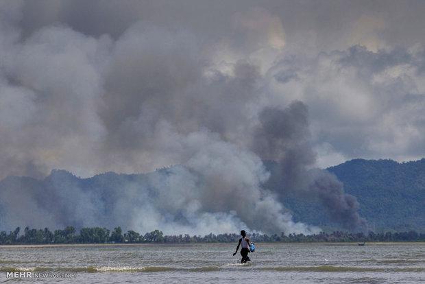 Humanitarian situation in Myanmar