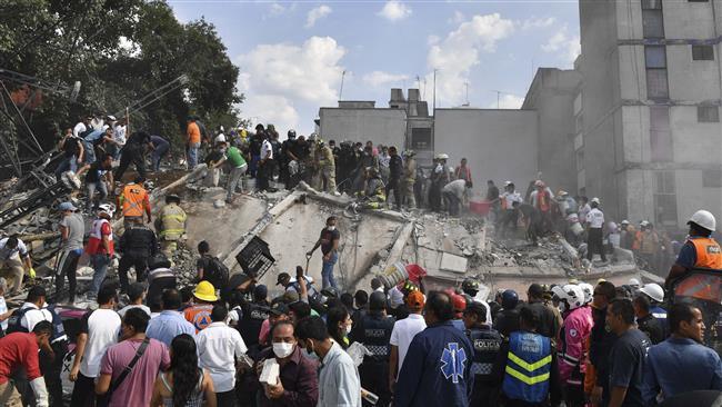 7.1-magnitude quake kills 216 in Mexico