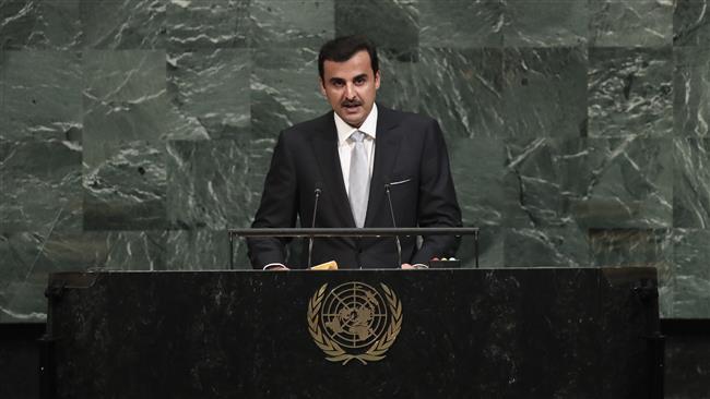 Qatari emir slams 'unjust' Saudi-led siege in UN speech