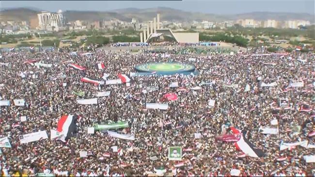 Yemenis mark 3rd anniversary of revolution