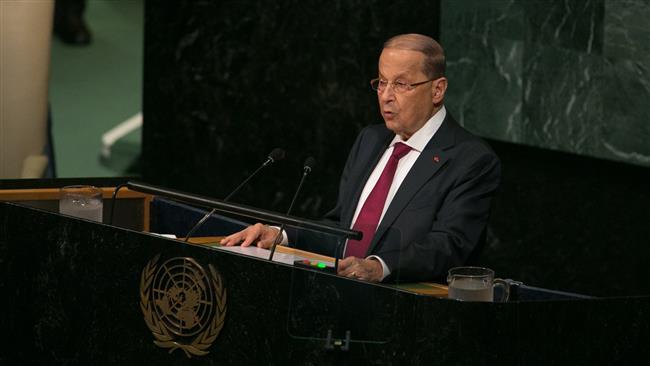 Aoun at UN: Israel violating Lebanon's sovereignty
