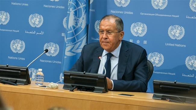 Lavrov slams war of words between Trump, Kim as 'kindergarten fight'