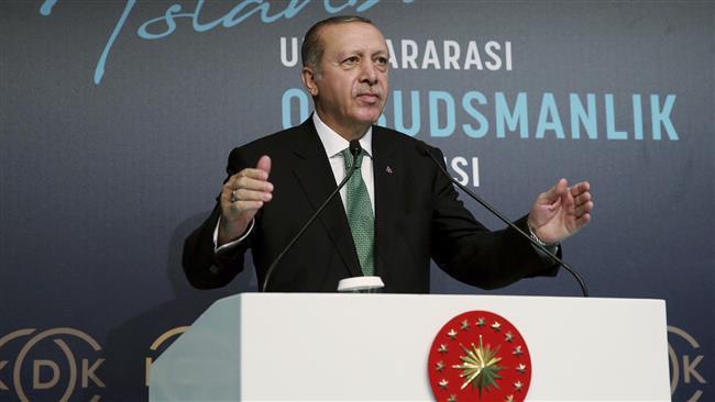 Erdogan slams Myanmar for Buddhist-led 'genocide' against Muslims