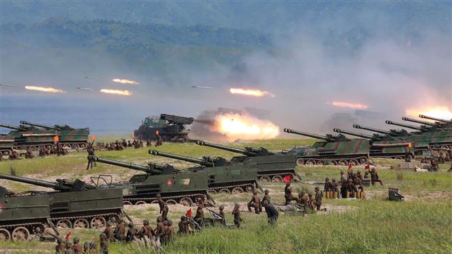 'North Korea boosts defenses' amid tensions with US