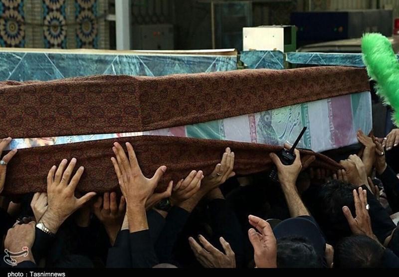 Martyr Hojaji pilgrim of Imam Reza (pbuh)