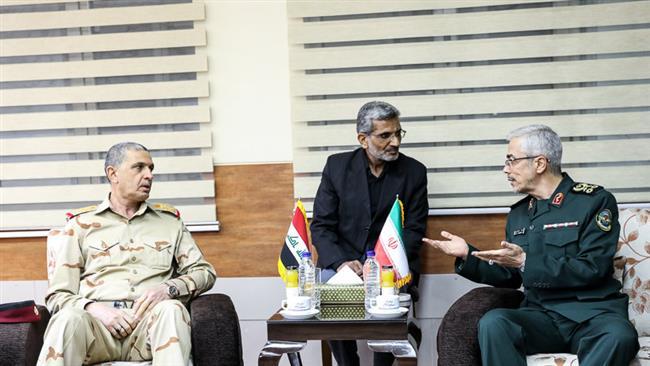 Top military officials of Iran, Iraq hold talks amid Kurdish independence vote