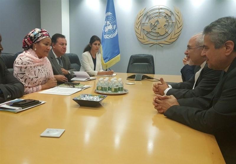 Zarif, senior UN officials meet in New York