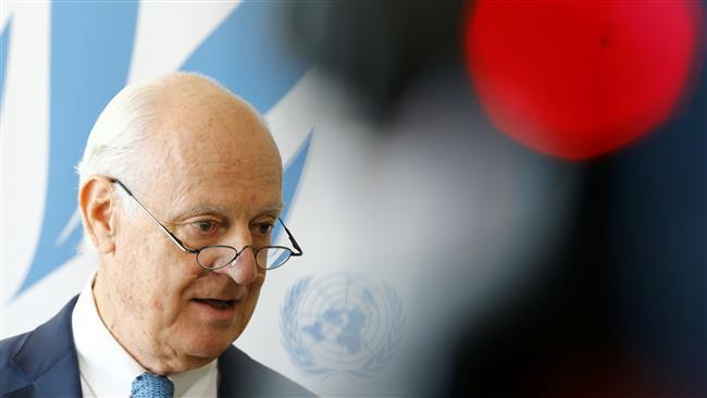 Syrian opposition must accept defeat against Assad: UN envoy