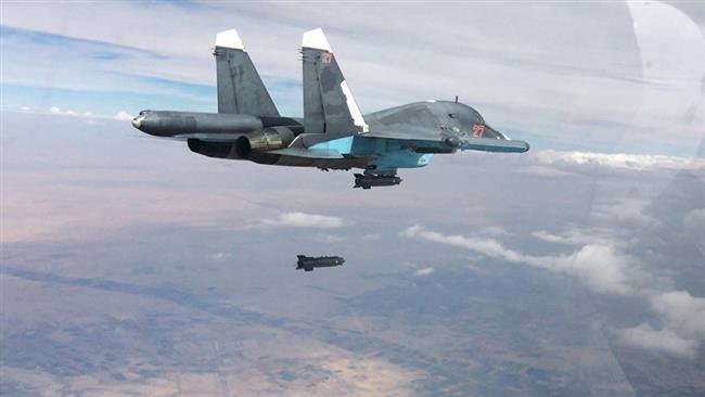 Russian strike kills 40 Daesh terrorists, including top commanders