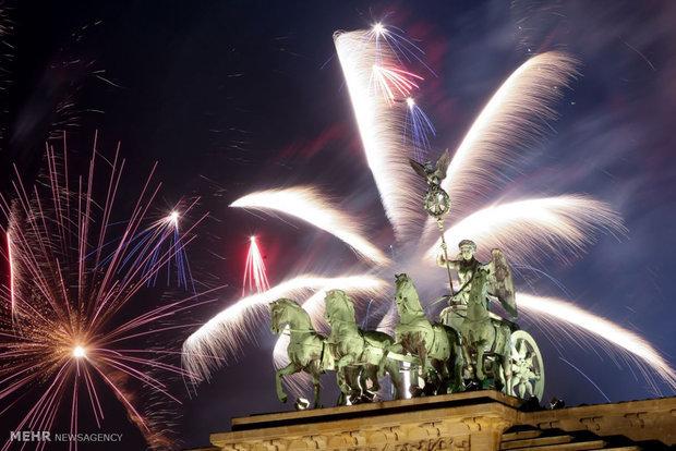 Christian New Year celebrations across the world