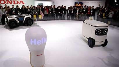 Honda debuts 3E robot series at Vegas CES