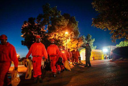 Search for survivors of devastating California mudslide enters third day