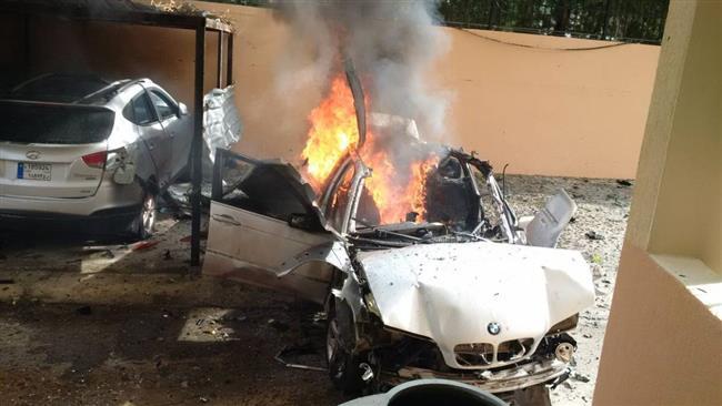 Car bomb injures Hamas official in southwest Lebanon