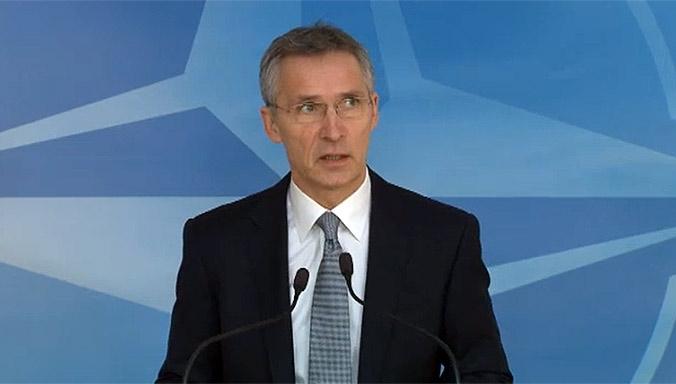 NATO chief due in Macedonia to discuss membership bid