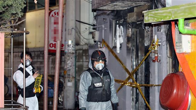 Arson attack on Seoul motel leaves 5 dead