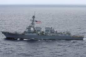 China says U.S. warship violated its South China Sea sovereignty