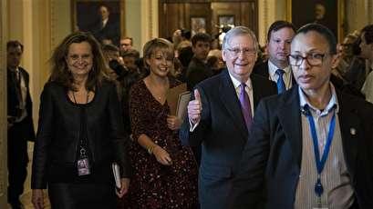 Democrats say their senators caved on shutdown