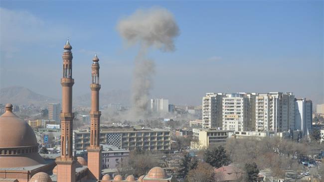 Huge blast in Afghanistan's Kabul