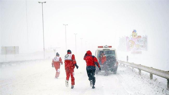 Snow blankets several Iranian cities, shuts roads, schools