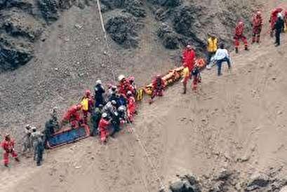 Peru: 48 killed as bus crashes down 'Devil's Curve'