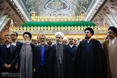 Democratic establishment formed by nation's sacrifice, Imam's help