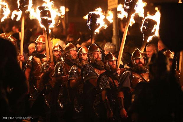 Viking Festival in Scotland