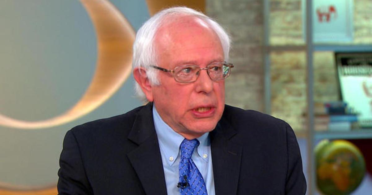 Trump policies more dangerous than his words: Bernie Sanders