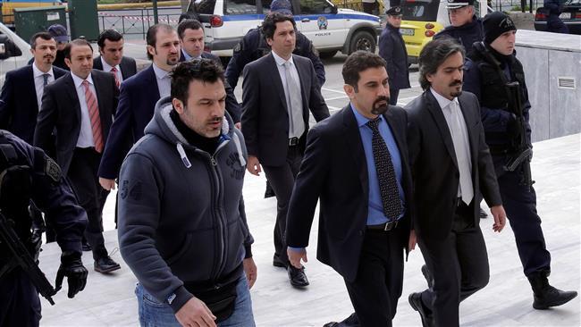 Greek court suspends Turkish soldier's asylum status 'for reasons of public interest'