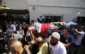 Funeral held for Palestinian teen killed by Israeli soldiers