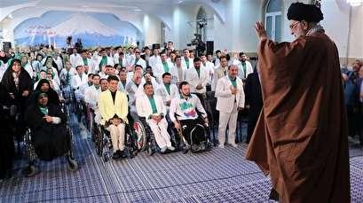 Ayatollah Khamenei pays tribute to Iran's Paralympic athletes
