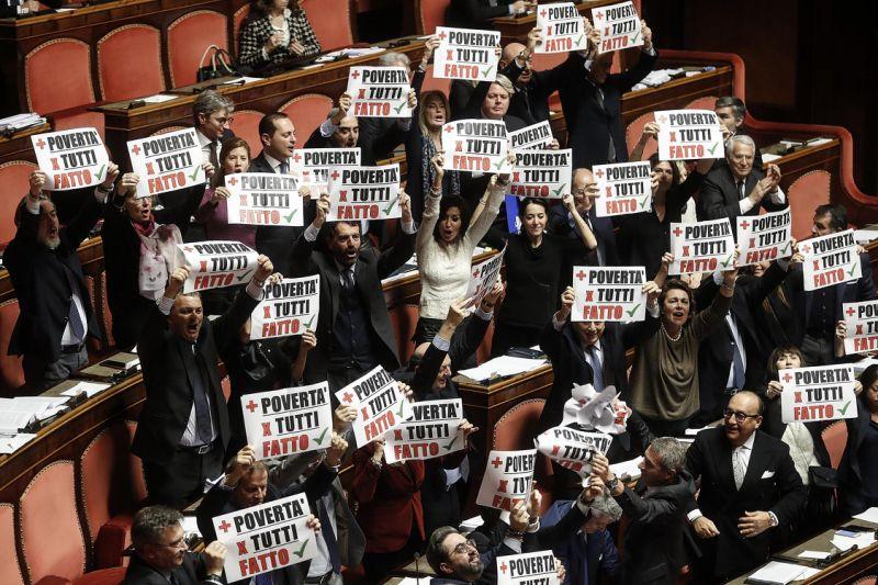 Italian Senate OKs budget, tweaked to satisfy EU concerns