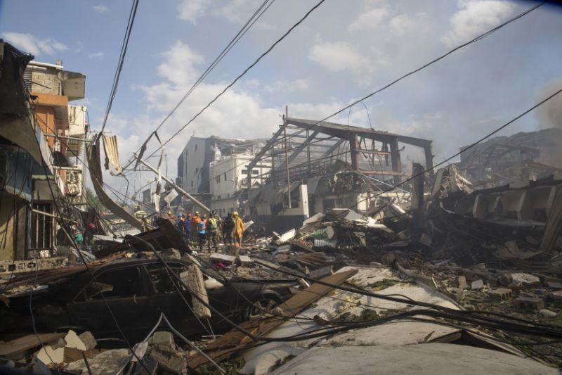 3 dead, 44 injured in blast at Dominican plastics company