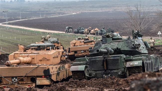 Syria complains to UN about Turkey's 'assault, occupation'