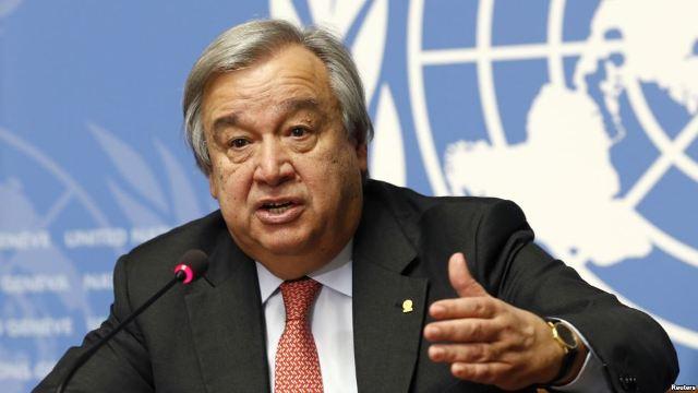 UN chief calls for promoting girl, women in scientific fields