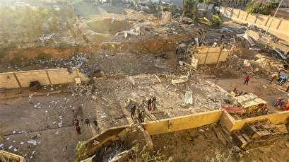 Israel strikes 'Hamas position' in north Gaza