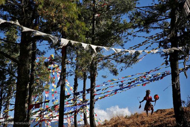 Photos of slowly modernizing Bhutan