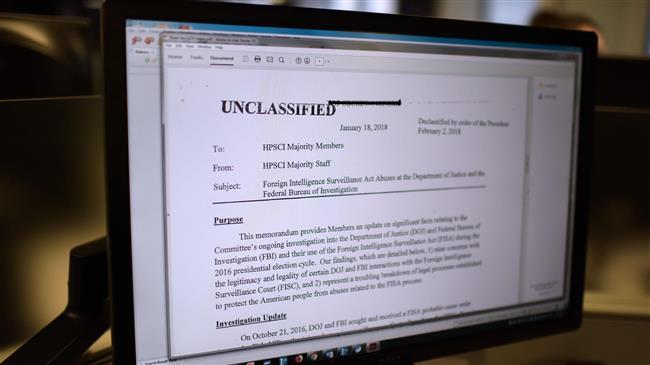 Democrats blast release of Republican memo on FBI surveillance