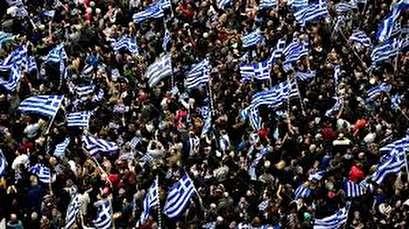 Mass rally held in Greece over Macedonia name row