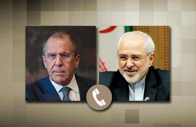 Zarif, Lavrov discuss Syrian developments