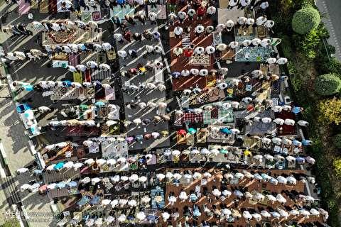 Young Journalists Club - Millions attend Eid al-Fitr prayers across Iran