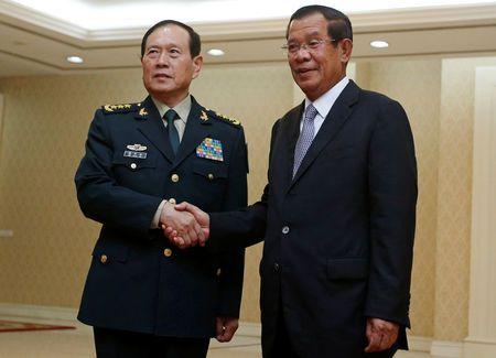 China pledges over $100 million military aid to Cambodia