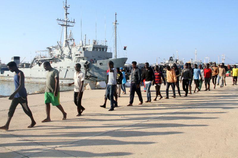 Five migrants die, nearly 200 rescued off Libya