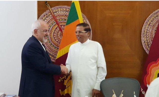 Sri Lanka president stresses boosting bilateral ties with Iran